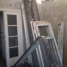 Балконная дверь и окно