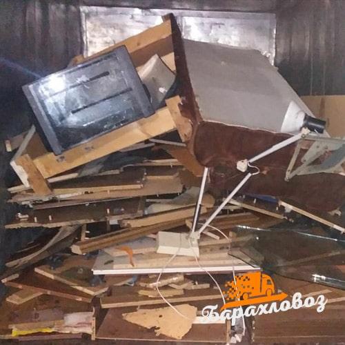 Вывоз мебели улица Рябиновая