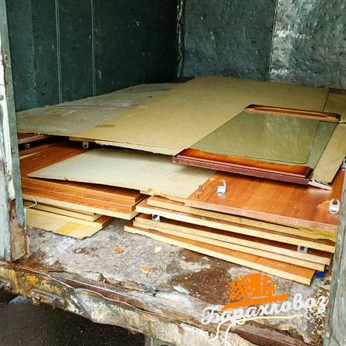 Вывоз мебели из дому отзыв