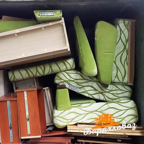 Вывоз мебели из квартиры
