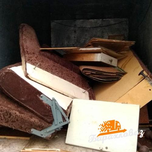 Вывоз старого дивана отзыв