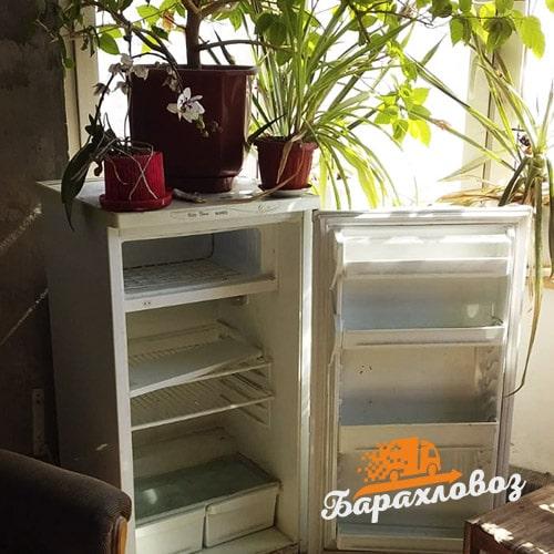 Вывоз старых холодильников в Москве